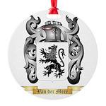 Van der Mere Round Ornament