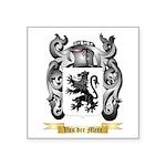 Van der Mere Square Sticker 3