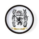 Van der Mere Wall Clock