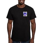 Van der Mark Men's Fitted T-Shirt (dark)
