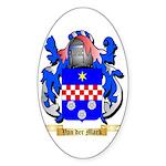 Van der Mark Sticker (Oval 10 pk)