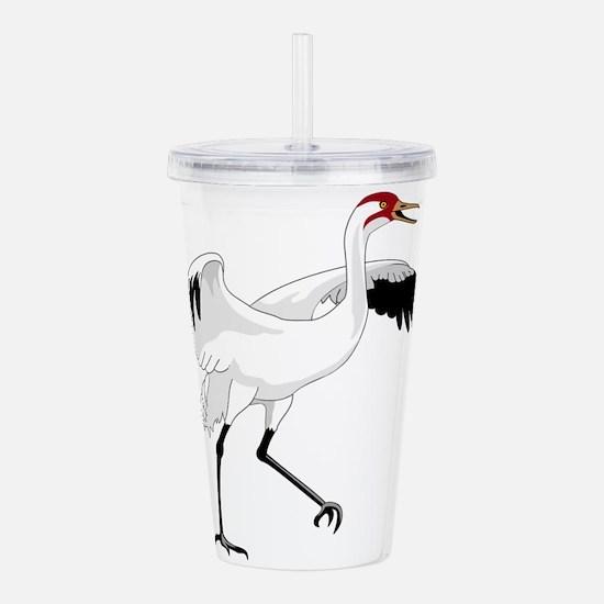 cartoon bird Acrylic Double-wall Tumbler