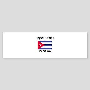 Proud To Be Cuban Sticker (Bumper)