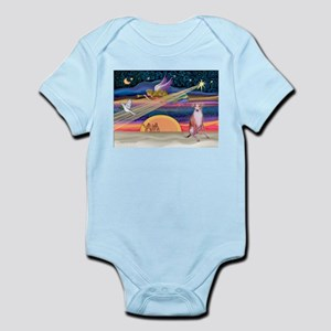 XmasStar/Whippet (#7) Infant Bodysuit