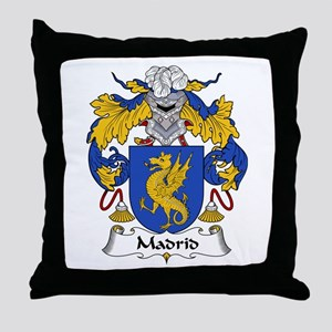 Madrid Throw Pillow