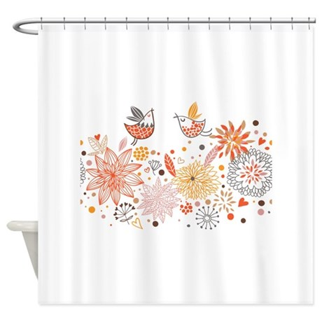 Combination Of Exquisite Bird Patte Shower Curtain By Admin Cp134979268