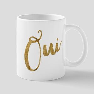 Golden Look Oui Mugs