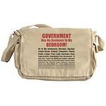 Gov't Has No Business Messenger Bag
