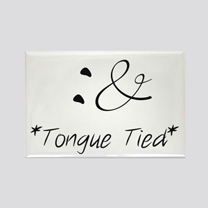 Tongue Tied Emoticon Magnets
