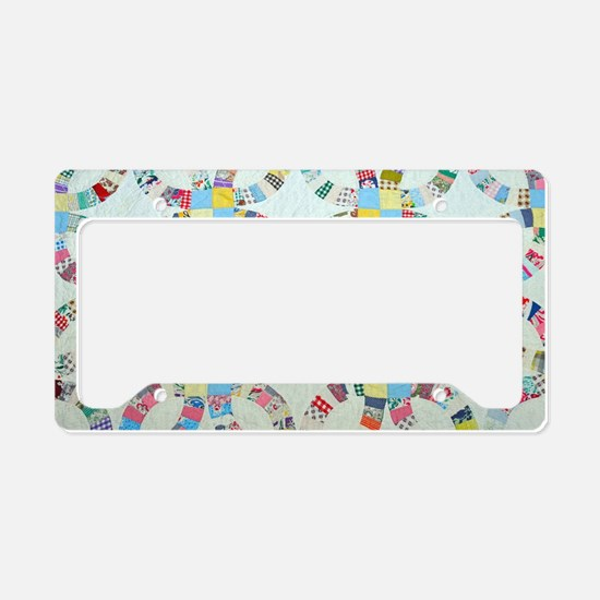 Cute Quilt License Plate Holder