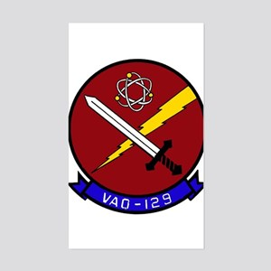 VAQ 129 Vikings Rectangle Sticker