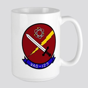 VAQ 129 Vikings Large Mug