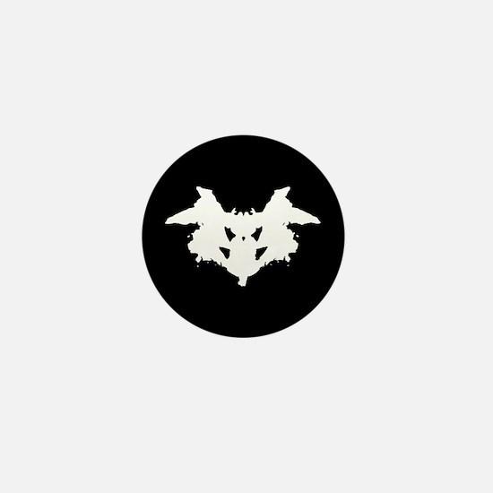 Rorschach Inkblot Mini Button