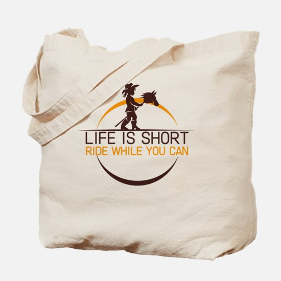 Cute Life is good horse Tote Bag