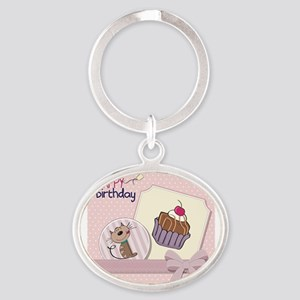 Cartoon birthday cards Keychains