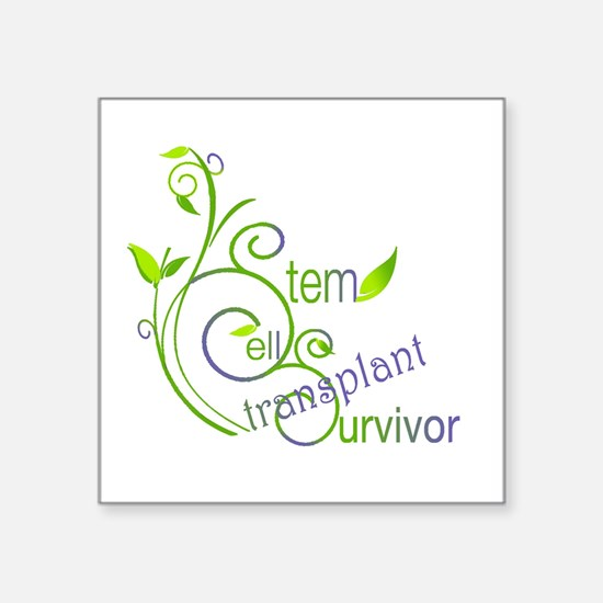 Stem Cell Transplant Survivor Sticker