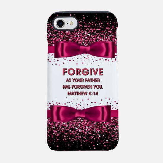 MATTHEW 6:14 iPhone 8/7 Tough Case