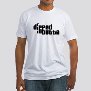 Dipped in Butta Fitted T-Shirt