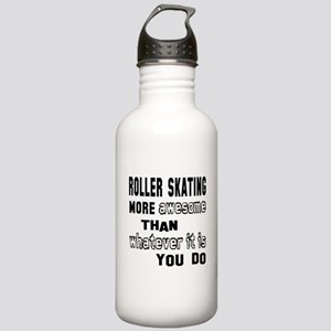 Roller Skating more aw Stainless Water Bottle 1.0L
