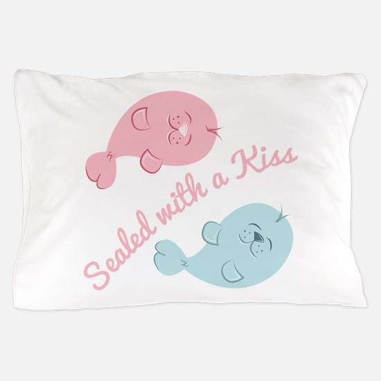 With A Kiss Pillow Case