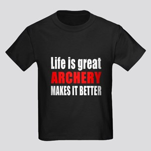 Archery Martial Arts Designs Kids Dark T-Shirt