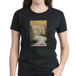 Love Under the Mistletoe Women's Dark T-Shirt