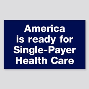 Single-Payer Sticker (rectangle)