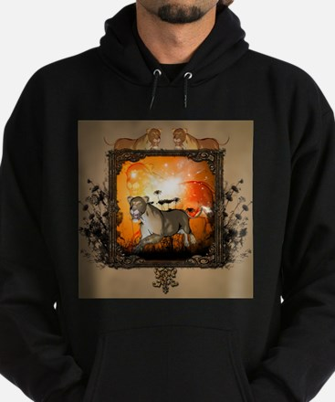 Lioness in a frame Hoodie