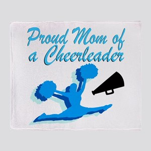 CHEERLEAD MOM Throw Blanket