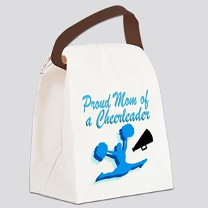 CHEERLEAD MOM Canvas Lunch Bag