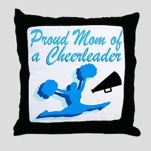 CHEERLEAD MOM Throw Pillow