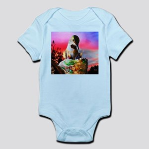 Hummingbird Mom and Babies Body Suit