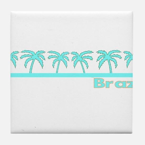 Brazil Tile Coaster