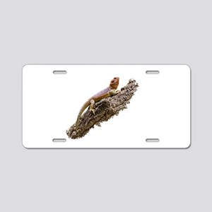 Central Bearded Dragon (Pog Aluminum License Plate