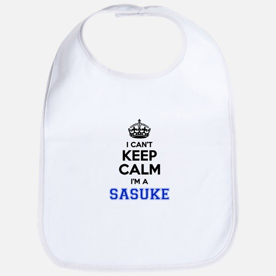 I can't keep calm Im SASUKE Bib