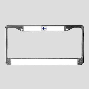 Finland License Plate Frame