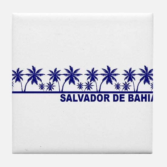 Salvador de Bahia Tile Coaster