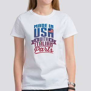 Made in USA With Italian Parts T-Shirt