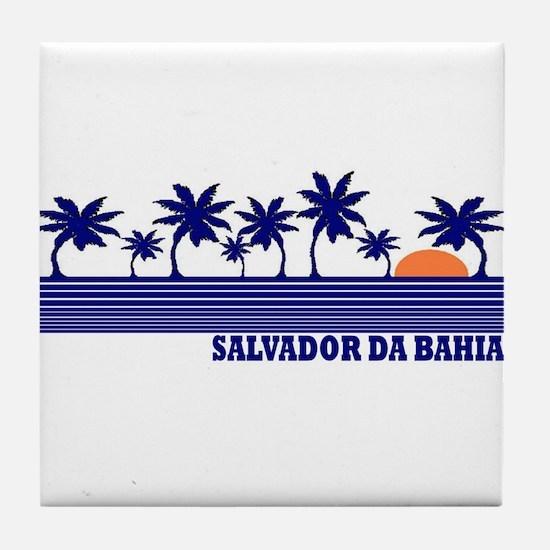 Salvador da Bahia Tile Coaster