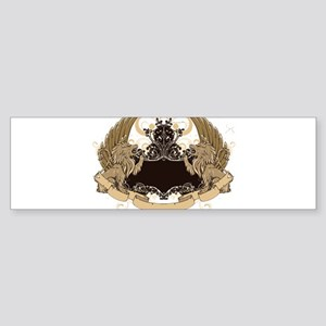 Grunge griffin emblems Bumper Sticker
