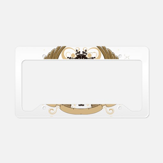 Grunge griffin emblems License Plate Holder