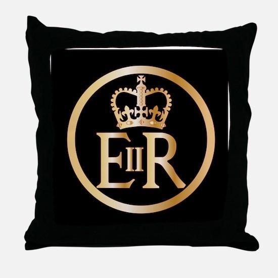 Cute Buckingham palace Throw Pillow