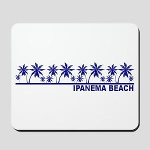 Ipanema Beach, Brazil Mousepad