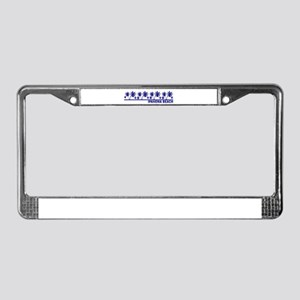 Ipanema Beach, Brazil License Plate Frame
