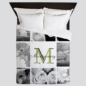 Monogram by LH Queen Duvet