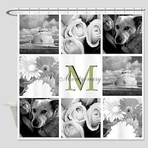 Monogram By Lh Shower Curtain