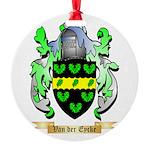 Van der Eycke Round Ornament
