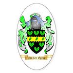 Van der Eycke Sticker (Oval)