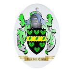 Van der Eycke Oval Ornament