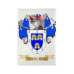 Van der Brug Rectangle Magnet (10 pack)